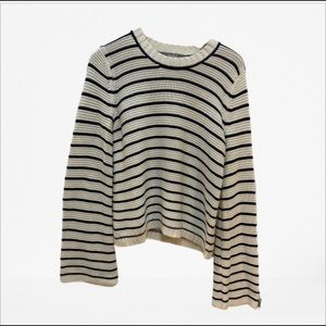 Marled reunited clothing bell sleeves sweater/M